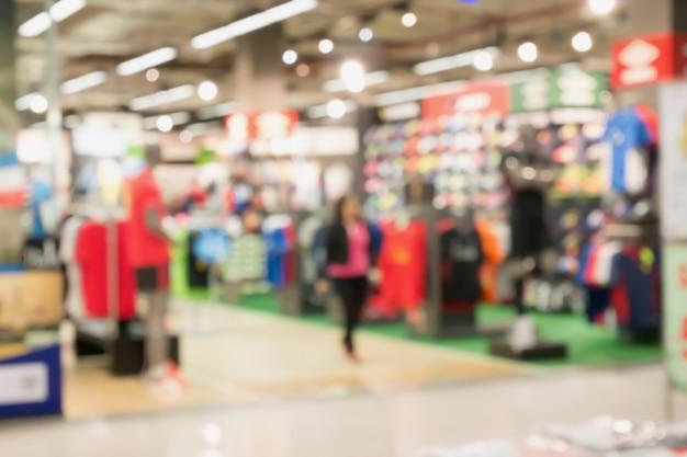 Blur отдел магазина спортивной одежды