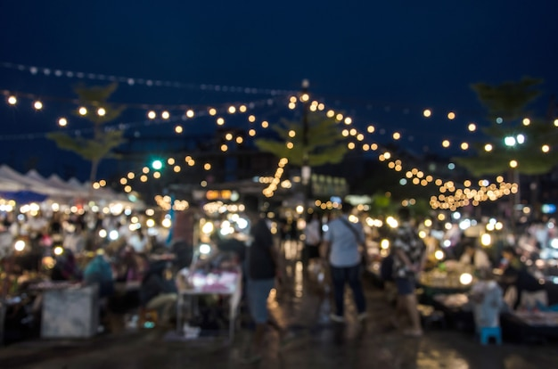 Blur street market festival