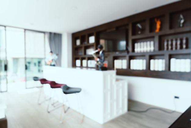Blur интерьер гостиной