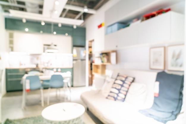 Blur украшение в магазине склада