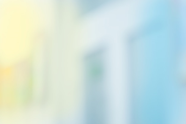 Blur медицинская клиника больницы интерьер. больница размытым фоном.