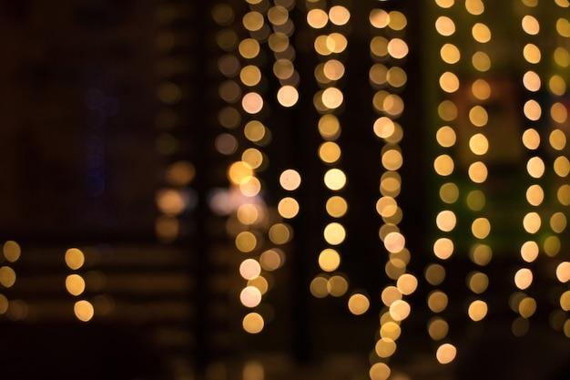 Blured litle lights