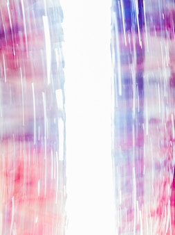 Blurred abstract background with blue and red