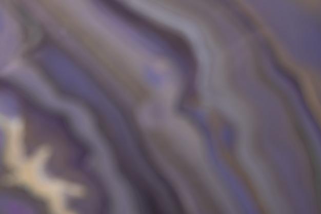 灰色の線でぼやけた明るいネイビーブルーと紫の背景。ぼけとボケ味の焦点がぼけたアートの抽象的なグラデーションの背景。