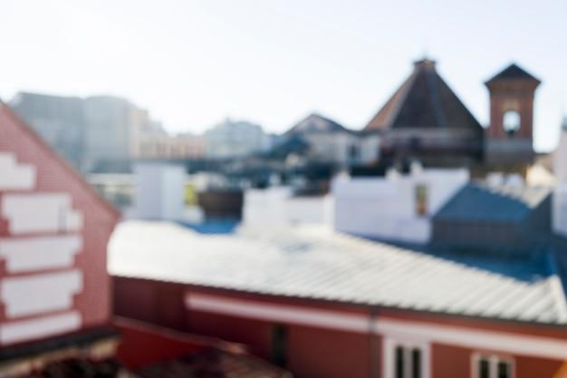 Blurred cityscape