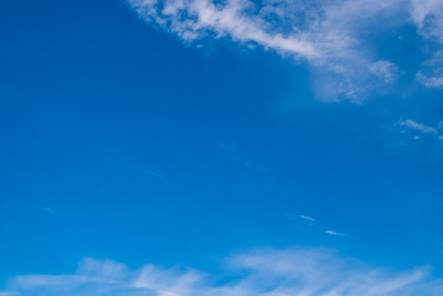 Blurred clouds, sky during in morning. blue,white pastel heaven,soft focus lens flare sunlight.