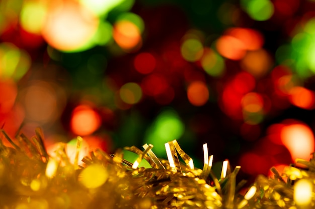 Blurred colorful bokeh background in celebtation holiday