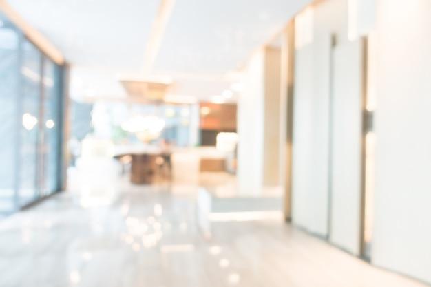 Blurred corridor