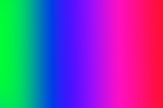 Blurred gradient abstract background with vivid primary colors