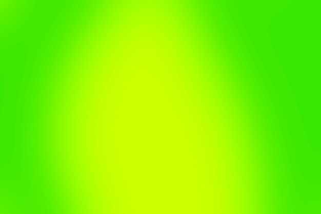 ぼやけたグラデーションの緑と黄色の背景