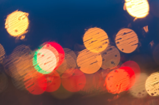 Blurred image of lights