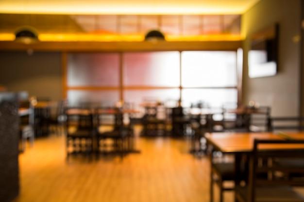 Размытое изображение японского ресторана для использования в качестве фона.