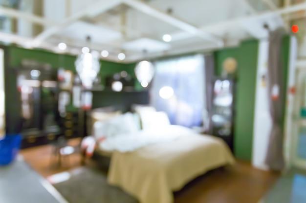 Blurred modern interior background