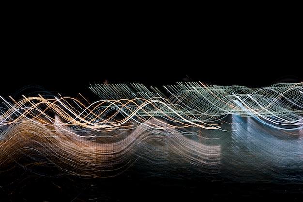 Blurred night lights