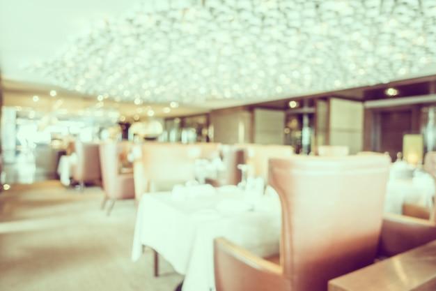 オレンジ色の椅子とかすみレストラン