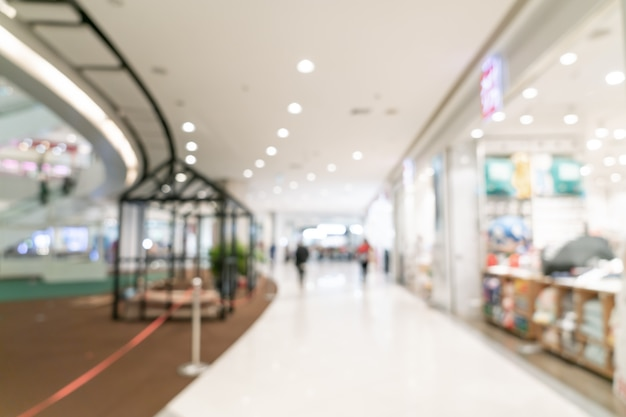 흐릿한 쇼핑몰