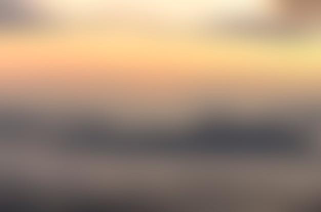 Blurred sunrise background, early morning light, the natural lighting phenomena.