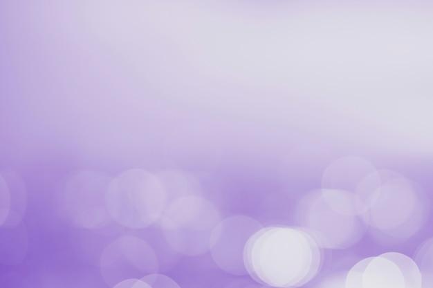 ぼやけた空白の紫色のボケ味の背景