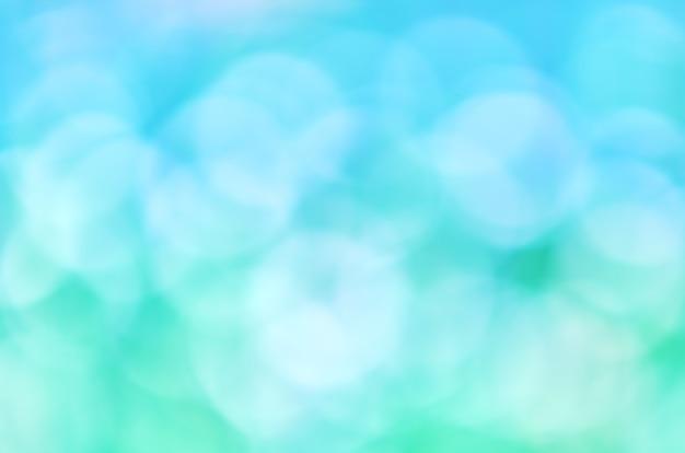 흐릿한 녹색 파란색 추상적 인 배경