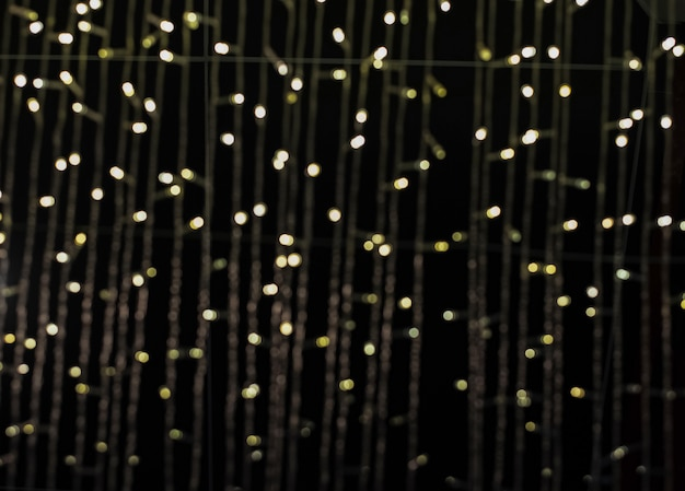 The blurry light design background of bokeh light
