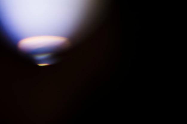 ぼやけたネオンの光の背景
