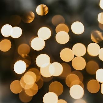 Blurry warm bokeh light background Premium Photo