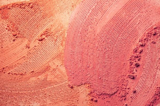 Blusher or pressed powder textured background