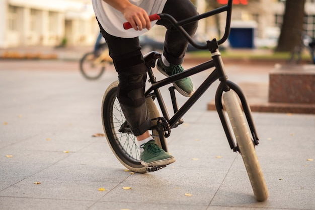 Bmx bike for various stunts. for any purpose.