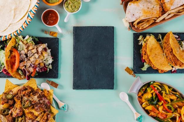 Совет среди мексиканской кухни