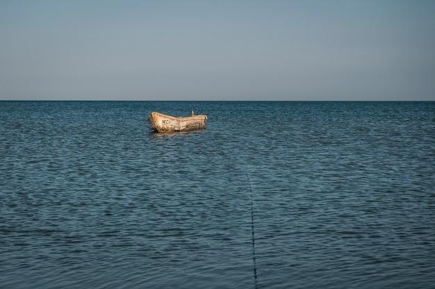 Boat near the shore colombia beach