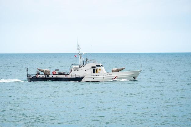 ジョージア沿岸警備隊のボート、黒海、ジョージア