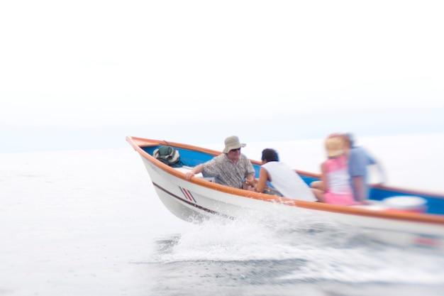 Boat off costa rica
