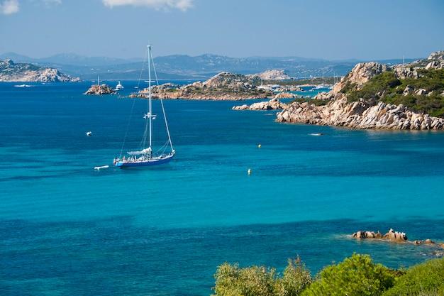 ボート用帆船budelli island