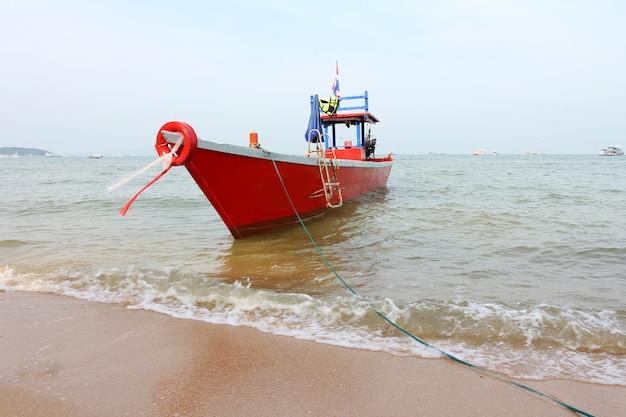 The boat on the sea, pattaya, thailand