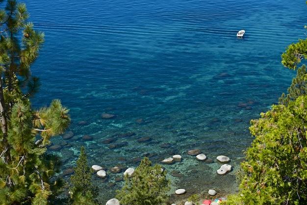 Canottaggio sul lago tahoe