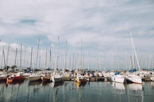 Лодки в италии