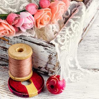 Bobbin sewing thread