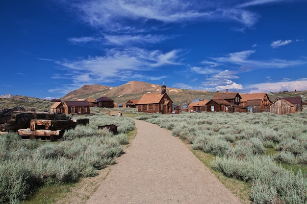 Bodie is abandoned city of gold diggers