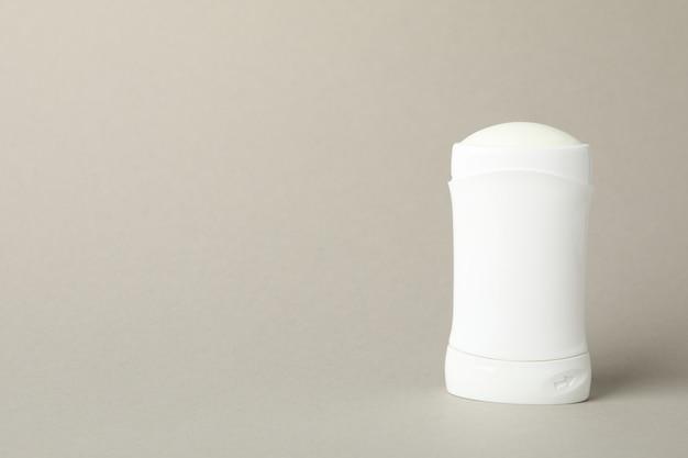 Body deodorant on gray