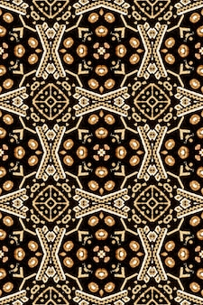 Bohemian print. baroque muslim endless theme. damask design. tan brown beige polynesian background. interior vintage ornament. mexican seamless print.