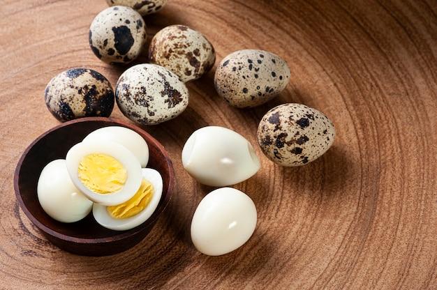 ウズラのゆで卵