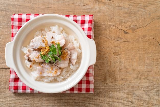魚ご飯スープ