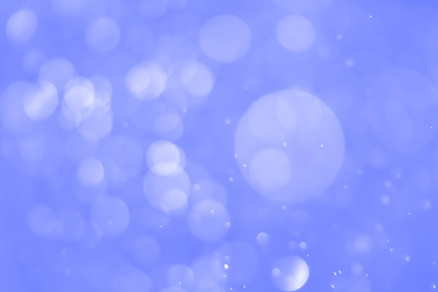 Bokeh abstract background with blue color