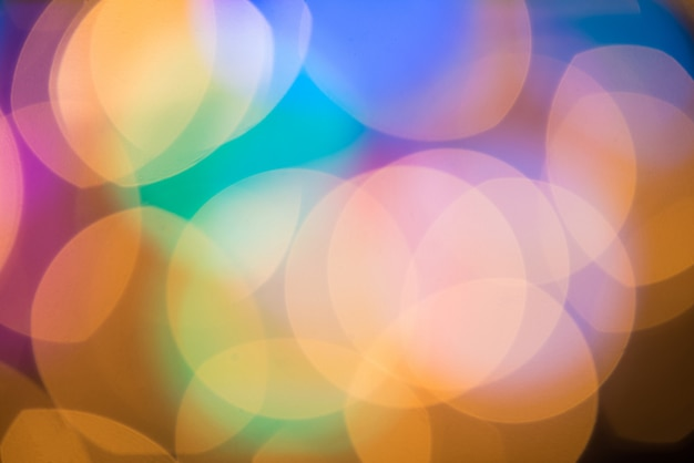 Bokeh - abstract blurred background - light leaks
