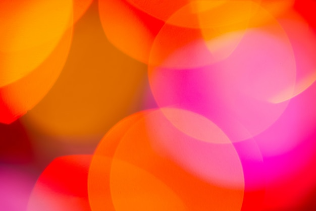 Bokeh abstract blurred background light leaks