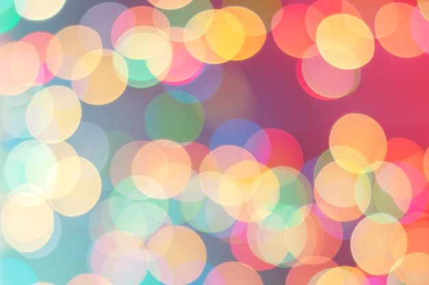Bokeh abstract christmas background