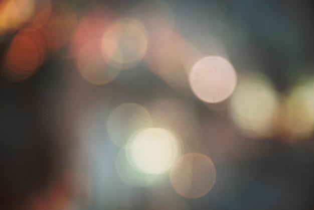 Bokeh blurred lights bright festival