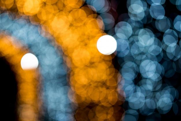Боке круг, красивые абстрактные цвета на рождество