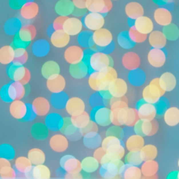 Bokeh circle bright tone background