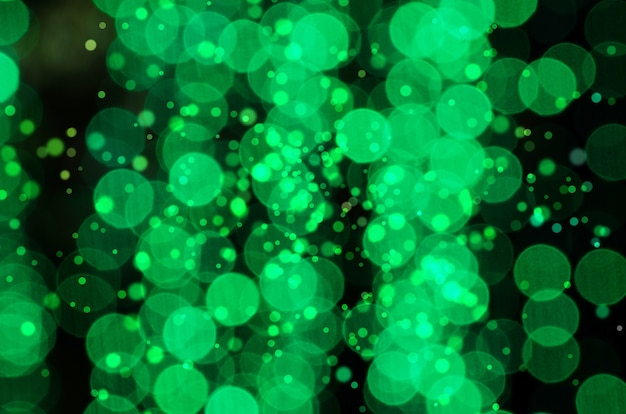 Bokeh colorful blurred abstract background